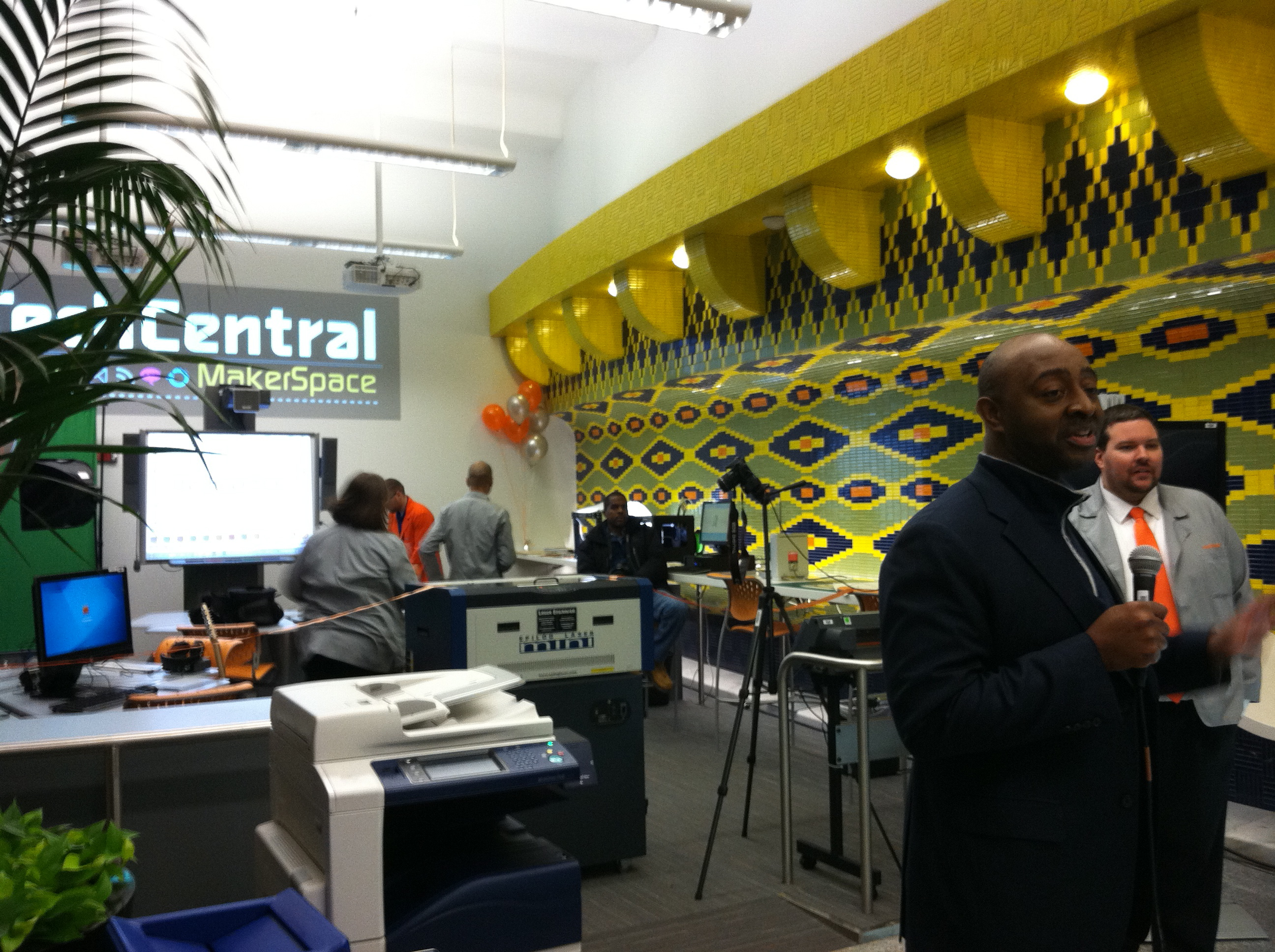 Cleveland S Techcentral Makerspace Grand Opening
