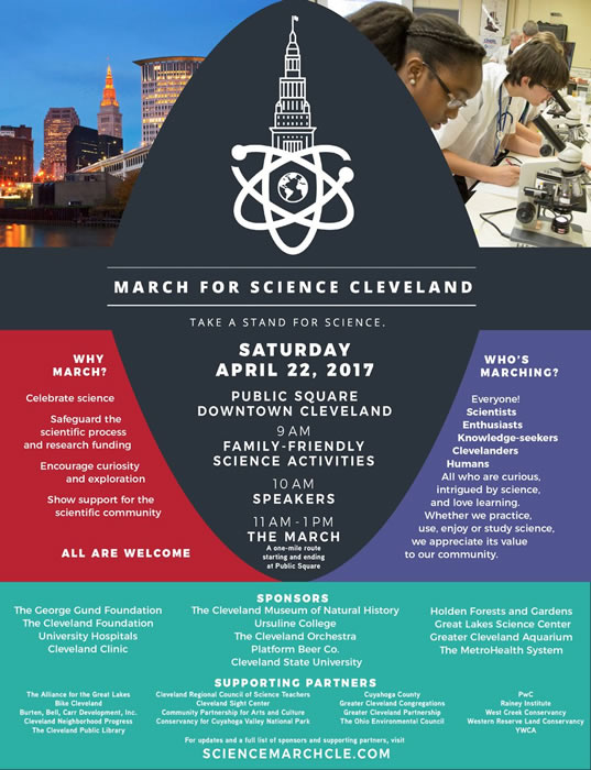 march for science cleveland on earth day 2017