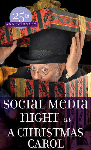 A Christmas Carol 25th Anniversary Social Media Night