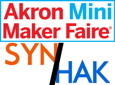Akron Mini Maker Faire & SYN/HAK The Akron Hackerspace Open House