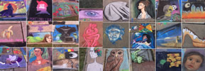 2018 Photos: Cleveland Museum of Art's 29th Annual Chalk Festival