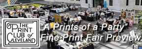"""A Prints of a Party"" - Fine Print Fair Preview"