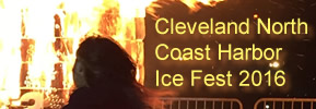 Cleveland's North Coast Harbor Ice Fest 2016