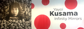 "Preview: Cleveland Museum of Art's ""Yayoi Kusama: Infinity Mirrors"""