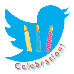 Tweet! Tweet! Celebrating Three Years!