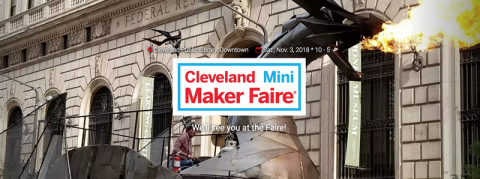 2018 Cleveland Public Library Mini Maker Faire Brings Together Makers and Creatives