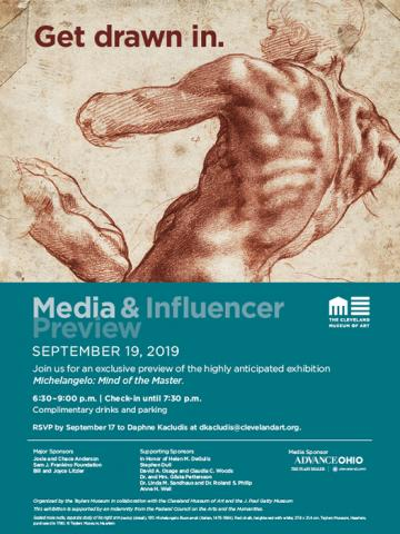 "Media & Influencer Preview of ""Michelangelo: Mind of the Master"""
