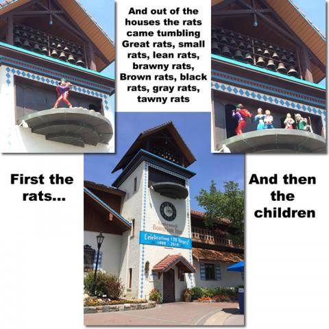 The Story of the Pied Piper - Frankenmuth Bavarian Inn Glockenspiel