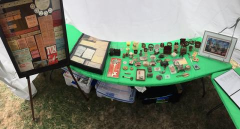 Kevin F. Smith's extensive collections of Euclid Beach Park memorabilia