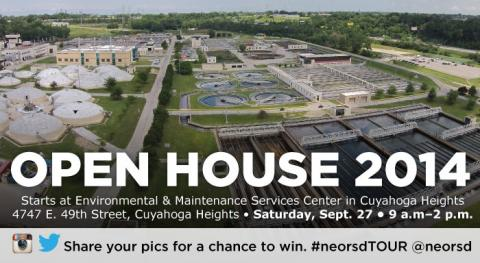 Northeast Ohio Regional Sewer District Clean Water Open House