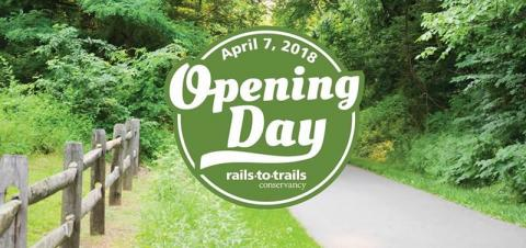 Rails-to-Trails Conservancy Opening Day for Trails