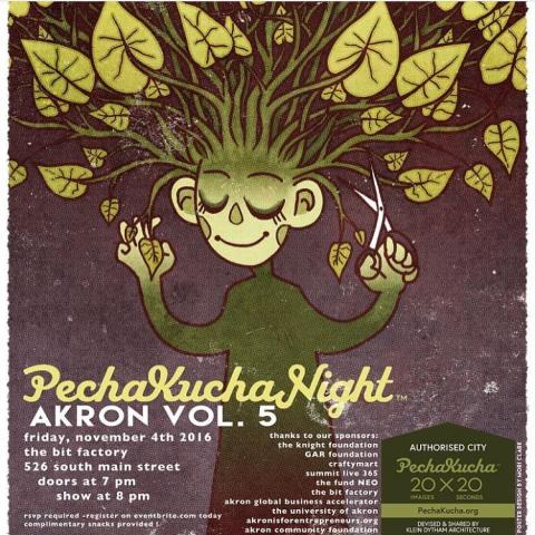 PechaKucha Night Akron Volume 5 at The Bit Factory