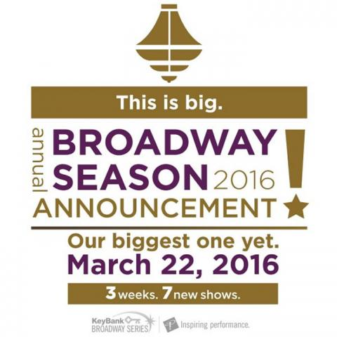 PlayhouseSquare 2016-2017 Broadway Series: Broadway Glamour in Cleveland!