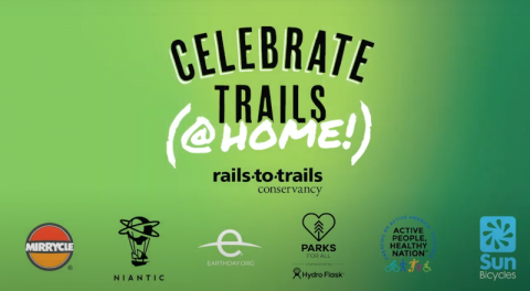 Rails-to-Trails Conservancy Celebrate Trails @ Home