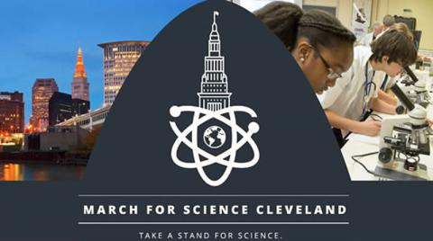 March for Science Cleveland - April 22, 2017
