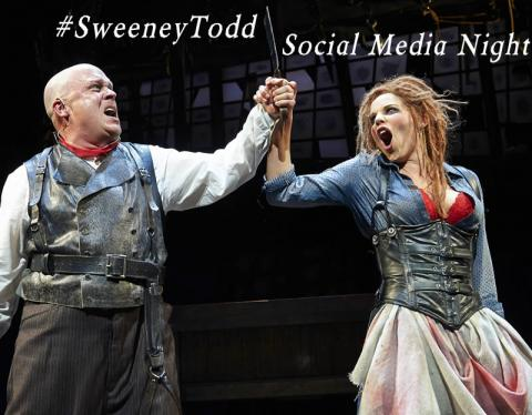 #SweeneyTodd Social Media Night