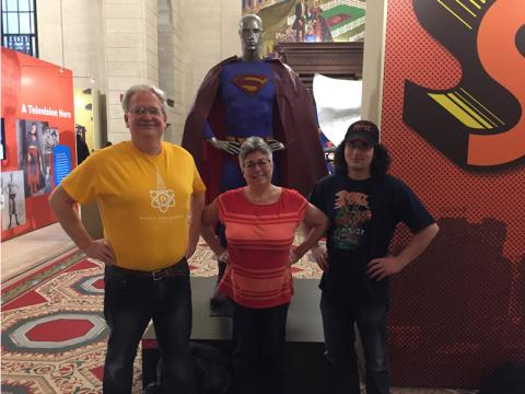 "I took my super family to ""Superman: From Cleveland to Krypton"""