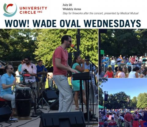 University Circle's WOW (Wade Oval Wednesday) Concert