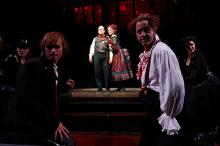 "Final moment in the Great Lakes Theater production of ""Sweeney Todd"" at the Hanna Theatre"
