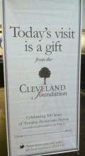 Today is a gift from The Cleveland Foundation