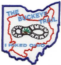 "Buckeye Trail Completion Patch - ""I Hiked Ohio!"""