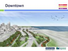 Proposed Cleveland Lakefront Greenway at Burke Lakefront Airport