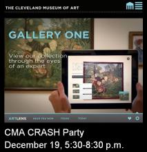 CMA Crash Party Invite - You've been selected...