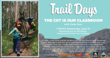 The Continental Divide Trail is Our Classroom with Author and Backpacker Cindy Ross