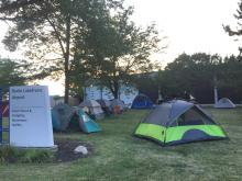 Cleveland GiveCamp 2017 Tent City