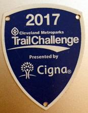 2017 Trail Challenge Shield