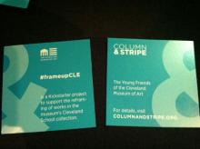 Cleveland Museum of Art's Column & Stripe Affiliate Group