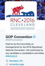 Republican National Convention @GOPconvention on Twitter