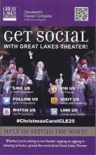 Follow Great Lakes Theater on social media