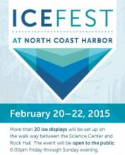 2015 Ice Fest at North Coast Harbor