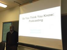 "Kevin Lockett on ""So You Think You Know Podcasting"""