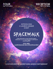Launch League - SpaceWalk 2015 Reception