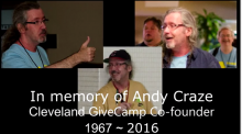 Remembering Andy Craze - Cleveland GiveCamp Co-Founder