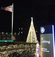 GE Lighting's Nela Park National Christmas Tree