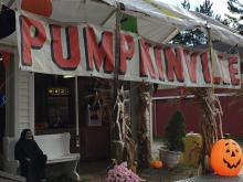 Pumpkinville in Kirtland, Ohio