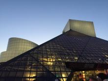 Rock & Roll Hall of Fame during PechaKucha Night Cleveland Volume 31