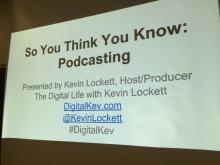 """So You Think You Know Podcasting"""