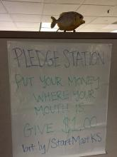 SmartMart Pledge Station