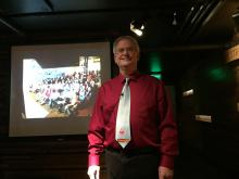 Stuart O. Smith, Jr., before his PechaKucha Talk